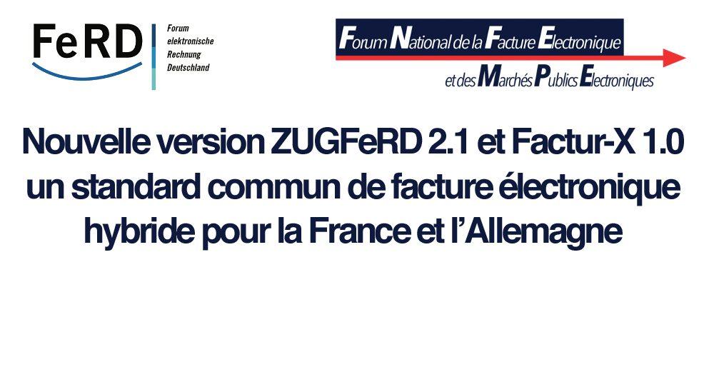 Permalien vers:Factur-X et ZUGFeRD 2.1